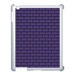 Color Of The Year 2018   Ultraviolet   Art Deco Black Edition Apple Ipad 3/4 Case (white)