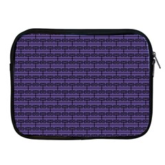 Color Of The Year 2018   Ultraviolet   Art Deco Black Edition Apple Ipad 2/3/4 Zipper Cases