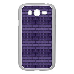 Color Of The Year 2018   Ultraviolet   Art Deco Black Edition Samsung Galaxy Grand Duos I9082 Case (white)