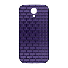 Color Of The Year 2018   Ultraviolet   Art Deco Black Edition Samsung Galaxy S4 I9500/i9505  Hardshell Back Case