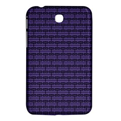 Color Of The Year 2018   Ultraviolet   Art Deco Black Edition Samsung Galaxy Tab 3 (7 ) P3200 Hardshell Case