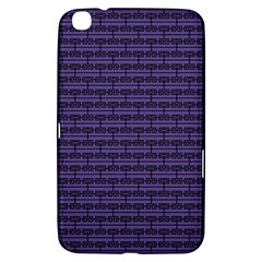 Color Of The Year 2018   Ultraviolet   Art Deco Black Edition Samsung Galaxy Tab 3 (8 ) T3100 Hardshell Case