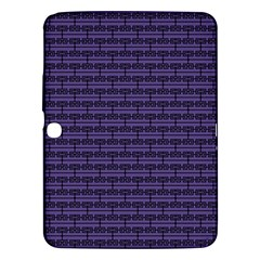Color Of The Year 2018   Ultraviolet   Art Deco Black Edition Samsung Galaxy Tab 3 (10 1 ) P5200 Hardshell Case
