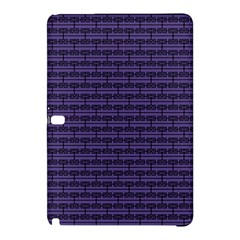 Color Of The Year 2018   Ultraviolet   Art Deco Black Edition Samsung Galaxy Tab Pro 12 2 Hardshell Case
