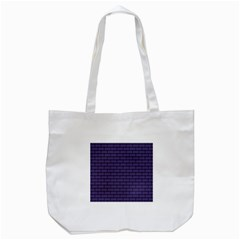 Color Of The Year 2018   Ultraviolet   Art Deco Black Edition Tote Bag (white)