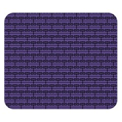 Color Of The Year 2018   Ultraviolet   Art Deco Black Edition Double Sided Flano Blanket (small)