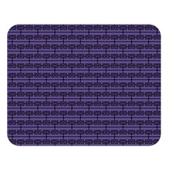 Color Of The Year 2018   Ultraviolet   Art Deco Black Edition Double Sided Flano Blanket (large)