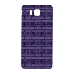 Color Of The Year 2018   Ultraviolet   Art Deco Black Edition Samsung Galaxy Alpha Hardshell Back Case