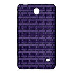 Color Of The Year 2018   Ultraviolet   Art Deco Black Edition Samsung Galaxy Tab 4 (8 ) Hardshell Case