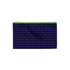 Color Of The Year 2018   Ultraviolet   Art Deco Black Edition Cosmetic Bag (xs)