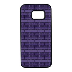 Color Of The Year 2018   Ultraviolet   Art Deco Black Edition Samsung Galaxy S7 Black Seamless Case