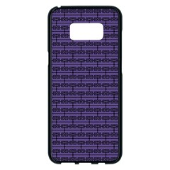 Color Of The Year 2018   Ultraviolet   Art Deco Black Edition Samsung Galaxy S8 Plus Black Seamless Case