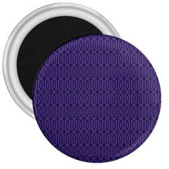 Color Of The Year 2018   Ultraviolet   Art Deco Black Edition 10 3  Magnets