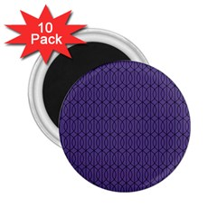 Color Of The Year 2018   Ultraviolet   Art Deco Black Edition 10 2 25  Magnets (10 Pack)