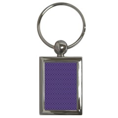 Color Of The Year 2018   Ultraviolet   Art Deco Black Edition 10 Key Chains (rectangle)