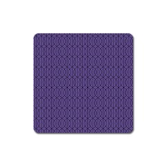 Color Of The Year 2018   Ultraviolet   Art Deco Black Edition 10 Square Magnet