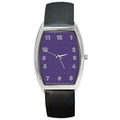 Color Of The Year 2018   Ultraviolet   Art Deco Black Edition 10 Barrel Style Metal Watch