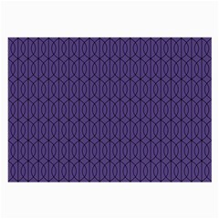Color Of The Year 2018   Ultraviolet   Art Deco Black Edition 10 Large Glasses Cloth