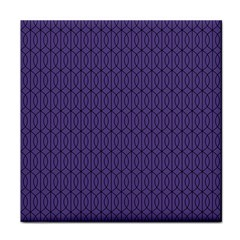 Color Of The Year 2018   Ultraviolet   Art Deco Black Edition 10 Face Towel