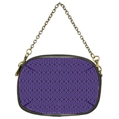Color Of The Year 2018   Ultraviolet   Art Deco Black Edition 10 Chain Purses (two Sides)