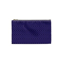 Color Of The Year 2018   Ultraviolet   Art Deco Black Edition 10 Cosmetic Bag (small)