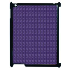 Color Of The Year 2018   Ultraviolet   Art Deco Black Edition 10 Apple Ipad 2 Case (black)