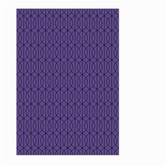 Color Of The Year 2018   Ultraviolet   Art Deco Black Edition 10 Large Garden Flag (two Sides)