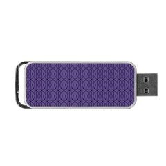 Color Of The Year 2018   Ultraviolet   Art Deco Black Edition 10 Portable Usb Flash (two Sides)