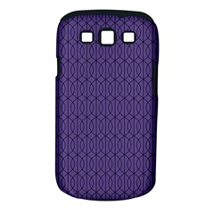 Color Of The Year 2018   Ultraviolet   Art Deco Black Edition 10 Samsung Galaxy S Iii Classic Hardshell Case (pc+silicone)