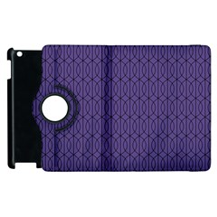 Color Of The Year 2018   Ultraviolet   Art Deco Black Edition 10 Apple Ipad 2 Flip 360 Case