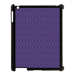Color Of The Year 2018   Ultraviolet   Art Deco Black Edition 10 Apple Ipad 3/4 Case (black)