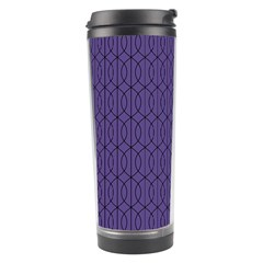 Color Of The Year 2018   Ultraviolet   Art Deco Black Edition 10 Travel Tumbler