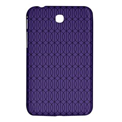 Color Of The Year 2018   Ultraviolet   Art Deco Black Edition 10 Samsung Galaxy Tab 3 (7 ) P3200 Hardshell Case