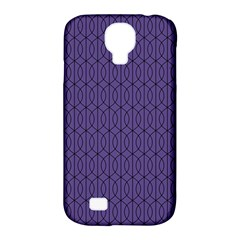 Color Of The Year 2018   Ultraviolet   Art Deco Black Edition 10 Samsung Galaxy S4 Classic Hardshell Case (pc+silicone)