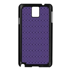 Color Of The Year 2018   Ultraviolet   Art Deco Black Edition 10 Samsung Galaxy Note 3 N9005 Case (black)