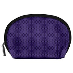 Color Of The Year 2018   Ultraviolet   Art Deco Black Edition 10 Accessory Pouches (large)