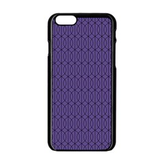 Color Of The Year 2018   Ultraviolet   Art Deco Black Edition 10 Apple Iphone 6/6s Black Enamel Case