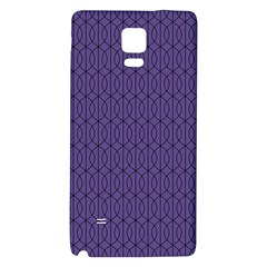 Color Of The Year 2018   Ultraviolet   Art Deco Black Edition 10 Galaxy Note 4 Back Case