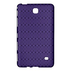 Color Of The Year 2018   Ultraviolet   Art Deco Black Edition 10 Samsung Galaxy Tab 4 (7 ) Hardshell Case