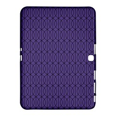 Color Of The Year 2018   Ultraviolet   Art Deco Black Edition 10 Samsung Galaxy Tab 4 (10 1 ) Hardshell Case