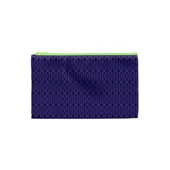 Color Of The Year 2018   Ultraviolet   Art Deco Black Edition 10 Cosmetic Bag (xs)