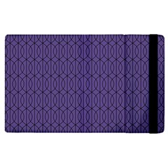 Color Of The Year 2018   Ultraviolet   Art Deco Black Edition 10 Apple Ipad Pro 9 7   Flip Case