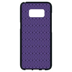 Color Of The Year 2018   Ultraviolet   Art Deco Black Edition 10 Samsung Galaxy S8 Black Seamless Case