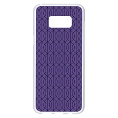 Color Of The Year 2018   Ultraviolet   Art Deco Black Edition 10 Samsung Galaxy S8 Plus White Seamless Case