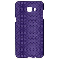 Color Of The Year 2018   Ultraviolet   Art Deco Black Edition 10 Samsung C9 Pro Hardshell Case