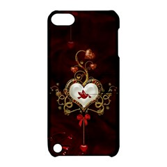 Wonderful Hearts With Dove Apple Ipod Touch 5 Hardshell Case With Stand