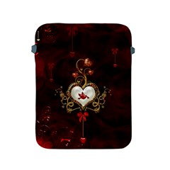 Wonderful Hearts With Dove Apple Ipad 2/3/4 Protective Soft Cases