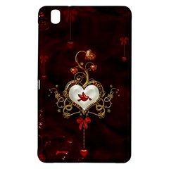 Wonderful Hearts With Dove Samsung Galaxy Tab Pro 8 4 Hardshell Case