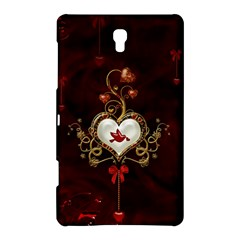 Wonderful Hearts With Dove Samsung Galaxy Tab S (8 4 ) Hardshell Case