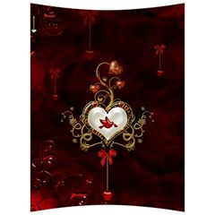 Wonderful Hearts With Dove Back Support Cushion